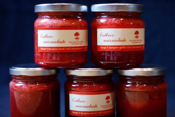 Erdbeermarmelade Geschenk Baumgartner
